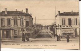 8615. CPA 33 CAUDERAN L'AVENUE SAINT AMAND - France