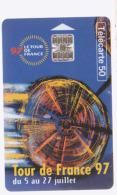 Carte Tel Tour De France 1997 - Sport