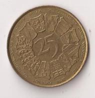 WESTVLAANDER 25 In Omicop Van 15 Juili Tot 15 Septemer 1980 - Gemeentepenningen
