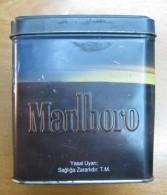 AC - MARLBORO LIMITED EDITION 80 CIGARETTES CIGARETTE TOBACCO EMPTY TIN BOX - Contenitori Di Tabacco (vuoti)