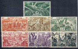 Océanie  (Ets Français De L' )         PA  19/25  ** - Oceania (1892-1958)