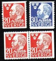 PRIX NOBEL PRIZE NOBELPREIS - ALFRED NOBEL - SWEDEN 1946 MI 325 326 MNH - Nobel Prize Laureates