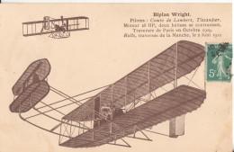 Aviation  Biplan Wright - Aérodromes
