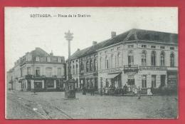 Zottegem / Sottegem - Place De La Station  ( Verso Zien ) - Zottegem