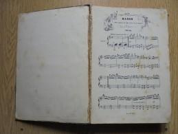 Livre Partition MANON Opéra Comique Musique De J. MASSENET - Opern