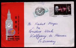 A3936) Hong Kong Cover From 03/05/1966 To Germany - Hong Kong (...-1997)