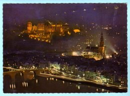 Heidelberg - Abendstimmung An Der Alten Brücke 1 - Heidelberg