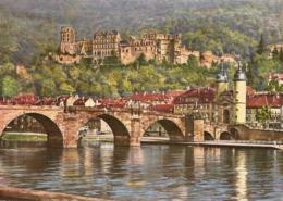 Heidelberg - Alte Brücke Und Schloß 3 - Heidelberg