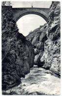 Cpa   Briançon ( 1326 M. ) Le Pont D'Asfeld  ( Haut. 64m. )    TBE - Briancon