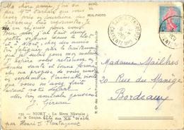 CACHET ENTREPOT SAINTES CHARENTE MARITIME 1960 - Postmark Collection (Covers)