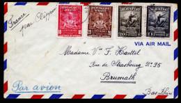 A3940) Haiti Airmail Cover From 10/26/1950 To France - Haiti