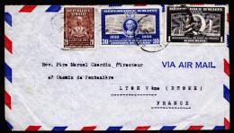 A3941) Haiti Airmail Cover From 03/31/1950 To France - Haiti