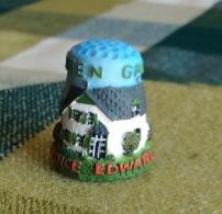 THIMBLES - DÉS À COUDRE - GREEN GABLES, PRINCE EDWARD ISLAND - - Dés à Coudre