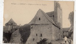 CONDAT-SUR-VEZERE L'EGLISE ET LA TOUR DES TEMPLIERS ANIMEE - France