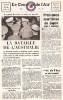 TRACT COURRIER DE L AIR 1942 PRESSE PROPAGANDE RESISTANCE FRANCE LIBRE FFL RAF ALLIES - 1939-45