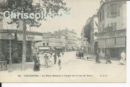Carte Postale : Vincennes - La Place Bérault à L'Angle De La Rue De Paris - Vincennes