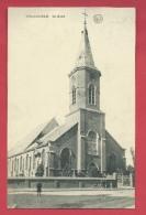 Gullegem - De Kerk - 1908 ( Verso Zien ) - Wevelgem