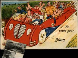 44 - BLAIN - Carte à Système - Carte Dépliant - Blain