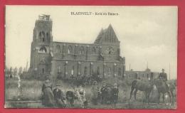 Blaasveld - Kerk En Ruinen - Geanimeerd ( Verso Zien ) - Willebroek