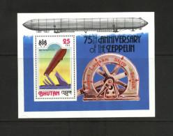 Bhutan - 1978 - Zeppelins, Airships - MNH - Bhutan