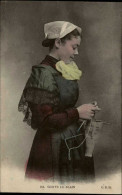 44 - BLAIN - Coiffe - Costume - Tricot - Blain