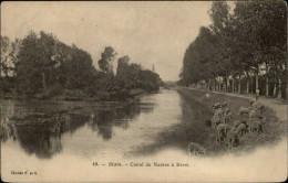 44 - BLAIN - Canal - Moutons - Blain