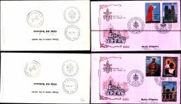 195a) Fdc Del Vaticano - Viaggio Del Papa Paolo VI In Asia Australia E Oceania-manila-filippine 26-11-1970 - FDC