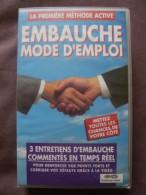 """Vidéo VHS """"EMBAUCHE MODE D'EMPLOI""""  3 Entretiens En Temps Réel - Cassettes Vidéo VHS"""