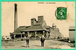 Voves - Eure Et Loire - La Sucrerie - Animée - - Chartres
