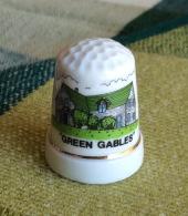 THIMBLES - DÉS À COUDRE EN PORCELAINE - GREEN GABLES, P.E.I. - - Dés à Coudre