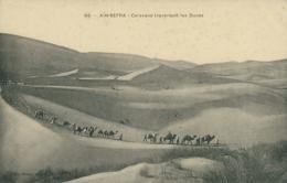 DZ AIN SEFRA / Caravane Traversant Les Dunes / - Algérie