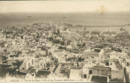 DZ ALGER / Vue De La Haute Ville Et Des Terrasses Mauresques / - Alger