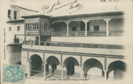 DZ ALGER / Pavillon Du Coup D'Fiventali / - Alger