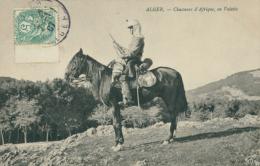 DZ ALGER / Chasseurs D'Afrique En Vedette / - Alger