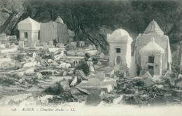 DZ ALGER / Cimetière Arabe / - Alger