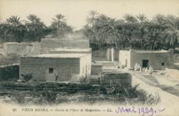DZ BISKRA / Vieux Biskra, Entrée De L'Oasis De Mejenéch / - Biskra
