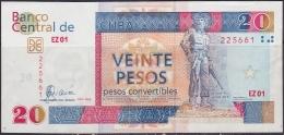 2006-BK-105 CUBA 2006 20 Cuc XF REPLACEMENT. REEEMPLAZO EZ. - Cuba