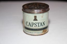 CAPSTAN NAVY CUT MEDIUM 4oz - Pre 1935 Vintage Tobacco Tin *VERY RARE* - Empty Tobacco Boxes