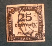 Yvert Taxe Nº5A. Oblitéré - Taxes