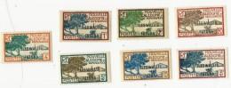 7 Timbres Nouvelle Calédonie Et Dépendances - Wallis Und Futuna