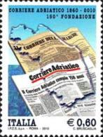 ITALIA REPUBBLICA ITALY REPUBLIC 2010 CORRIERE ADRIATICO MNH - 6. 1946-.. Republic