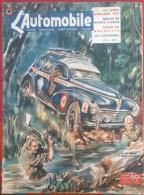 L'Automobile N° 58 Février 1951 Raids  Africains 1951, Rallye De Monte Carlo, Salon De Bruxelles - Auto