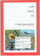 AIR FRANCE DEMANDE DE CERTIFICAT DE PASSAGE DE L EQUATEUR A BORD DE BOEING JET INTERCONTINENTAL - Vliegvergunningen