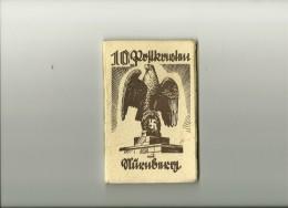 STADT DER REICHSPARTEITAGE NURNBERG  - PROPAGANDE NAZI - 10 PHOTOS - 10 FOTO - FORMAT 9.5 X 14.5 - PROPANDAKARTE - Weltkrieg 1939-45