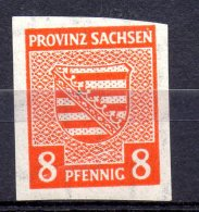 PROVINZ SACHSEN.  AÑO 1945.  Mi  70X (MNH) - Sovjetzone