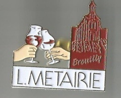 Pin´s L. Metairie Brouilly - Boissons