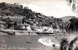 ACAPULCO - Vista De La Bahia, Fotokarte Gel.195? - Mexiko