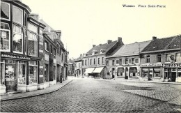 CPA / PK/ AK -  WASMES Place Saint Pierre - Colfontaine
