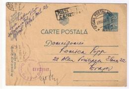 Romania - Tiraspol -  Oficiul Postal Militar Nr23 - Detasamentul Nr 1 Paza Drumuri -Dubla Cenzura Militara 1942 (Bv ) - Cartas De La Segunda Guerra Mundial