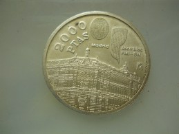 2000 PESETAS JAN CARLOS -1994   SILVER - 2 000 Pesetas